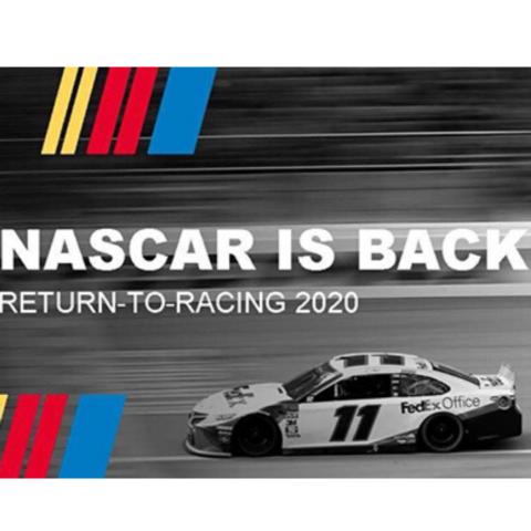 NASCAR is Back
